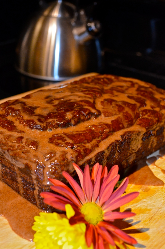 Pumpkin Banana Cinnamon Swirl Bread