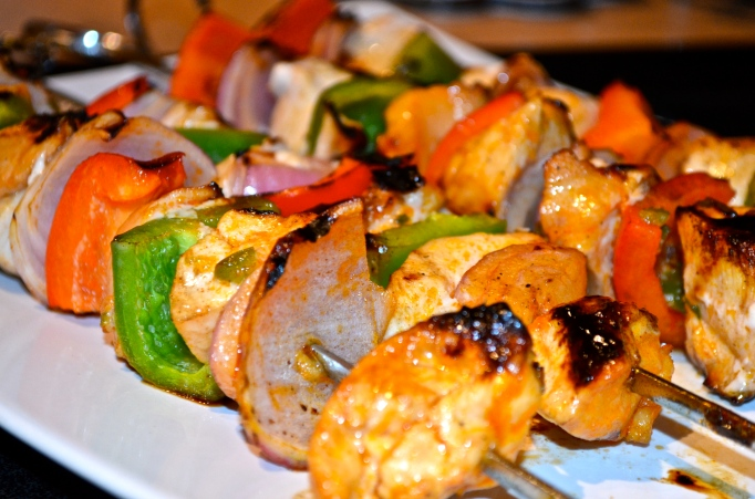 Tequila-Lime Chicken Kabobs