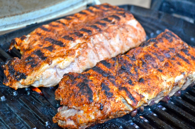 Oven-roasted, Spiced-up, BBQ Ribs