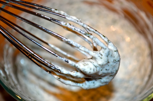 Baked Mahi-Mahi with Dill Cream Sauce