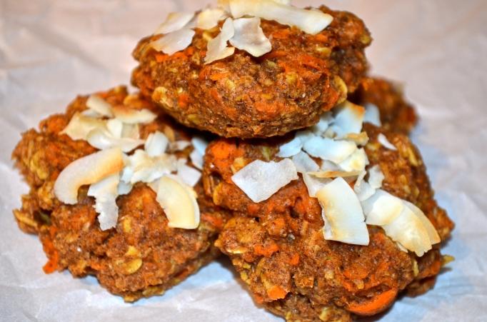 Skinny Carrot Cake Cookies