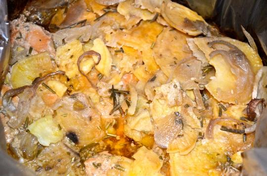 Slow Cooker Honey Mustard Chicken