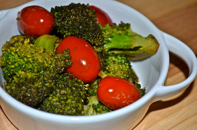 10-Minute Broccoli and Tomatoes