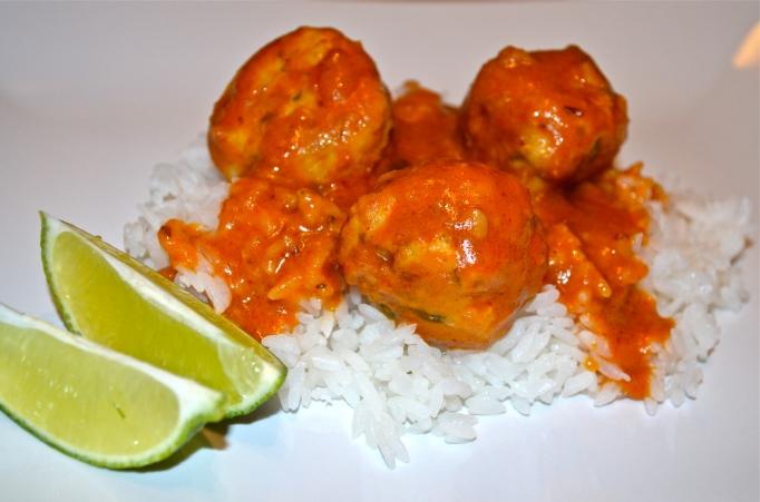 Skinny Thai Meatballs