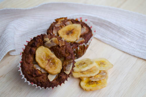 Paleo Coconut Banana Muffins